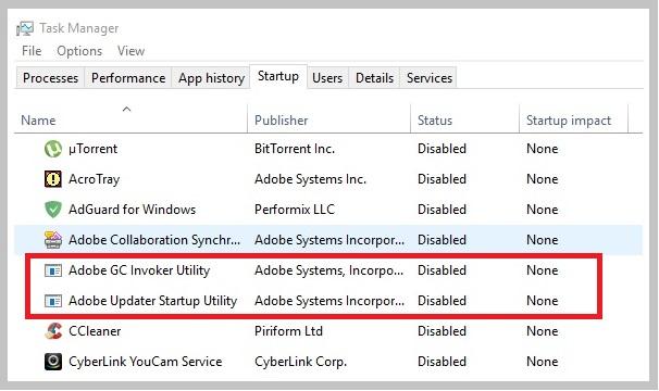 Adobe-GC-Invoker-Utility-программа