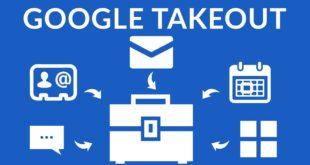 Приложение Google Takeout