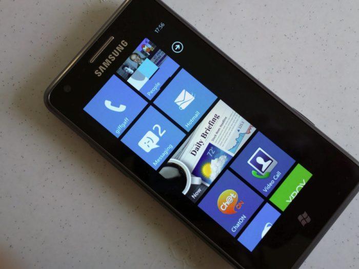 Samsung Positioning первоначально разрабатывалось под Windows Phone 7