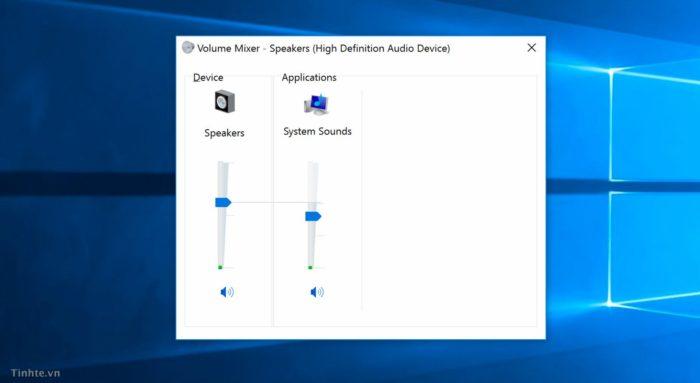 Приложение Volume Mixer для Windows 10