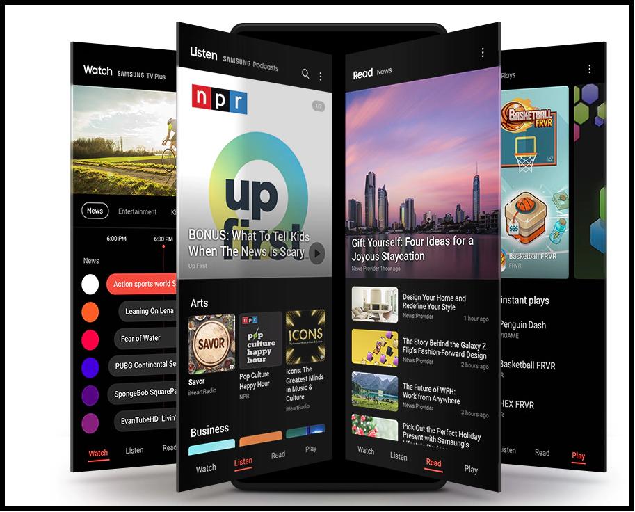 Samsung Free - что это за приложение и как отключить